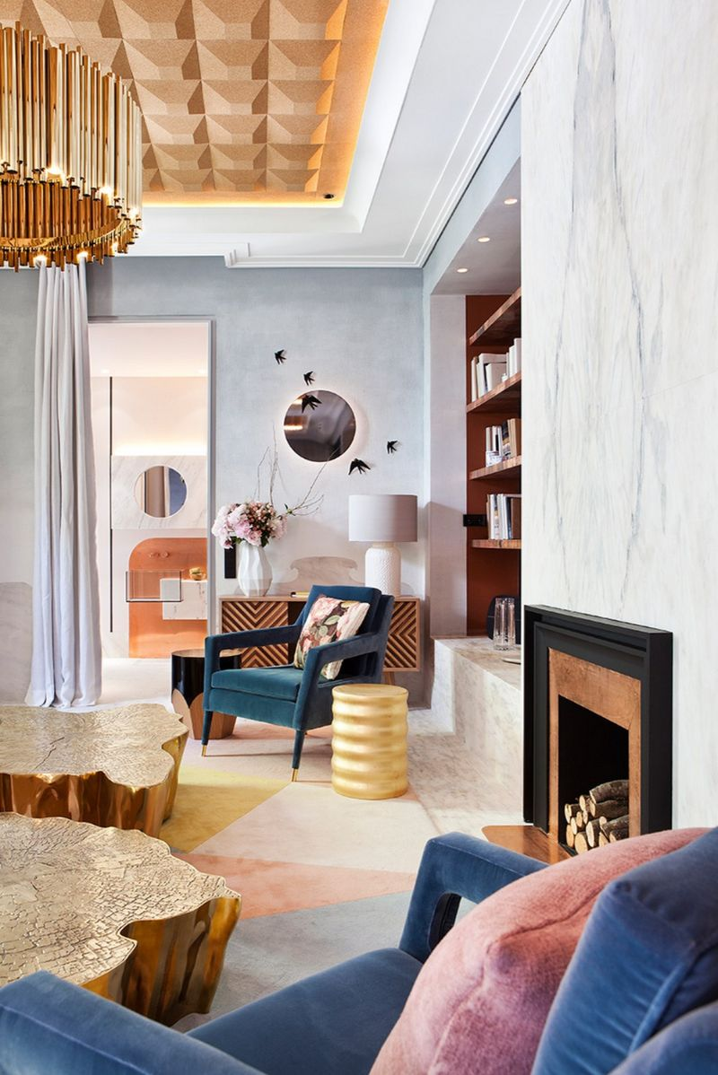 Amazing living room designed by Boca do Lobo