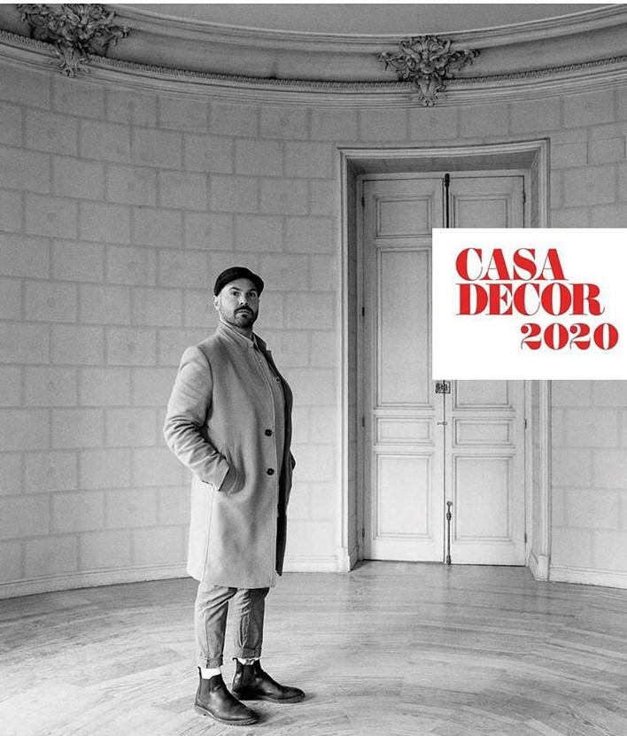 Javier Escobar is at Casa Decor 2020