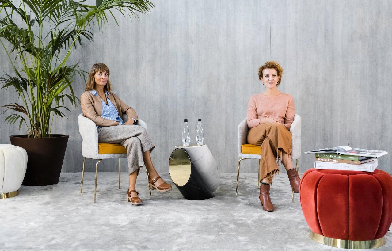 Studiopepe founders, Arianna Lelli Mami and Chiara di Pinto