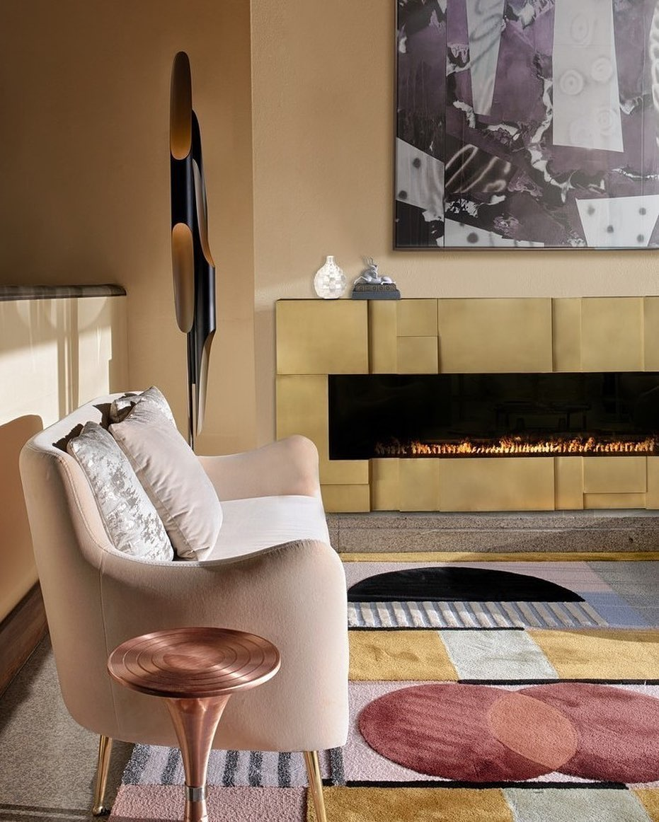 Soft living room by Rug'Society
